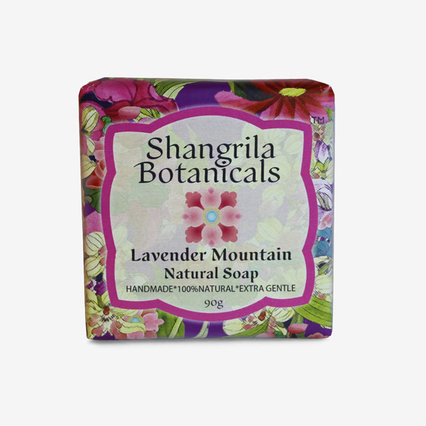 Lavender mountain soap