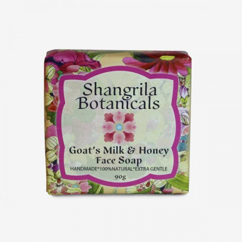 Goats milk and honey face soap
