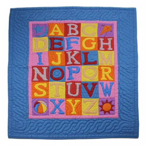 ABC Baby Play Blanket - Blue
