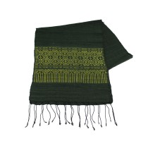 Laos pattern scarf folded