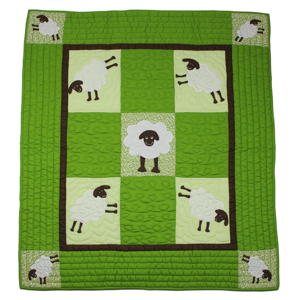 BBY015_Sheep-Baby_Blanket_front