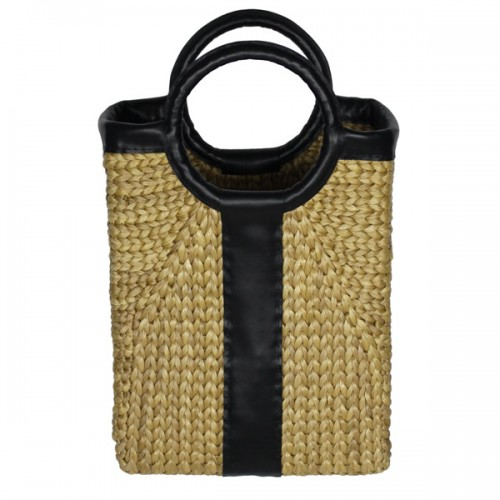 BPA025_Woven_water_hyacinth_bag_main