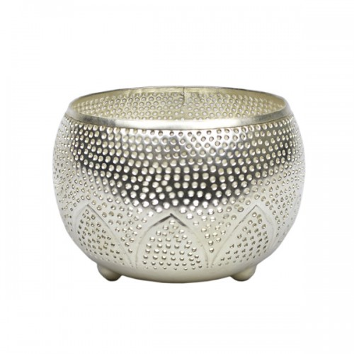 HD006S_Silver_Tealight_holder