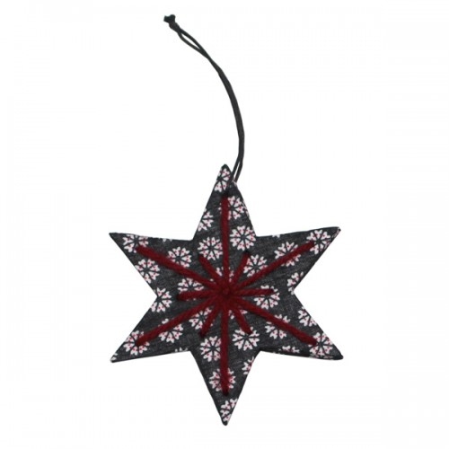 SEA007_Star-wool_decoration