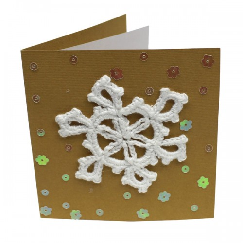 SEA014card_Crochet_Snowflake_card