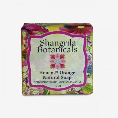 Honey and orange natural soap