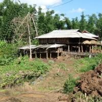 A Lahu house