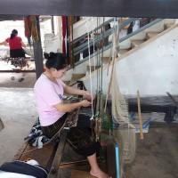 Weaving Lao Silk