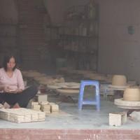 A studio at Bat Trang Pottery Village