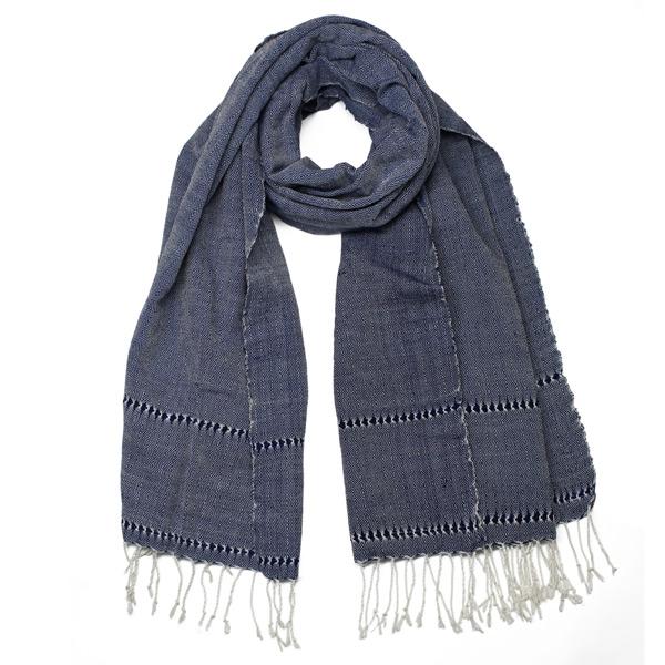 Lao diamond pattern scarf